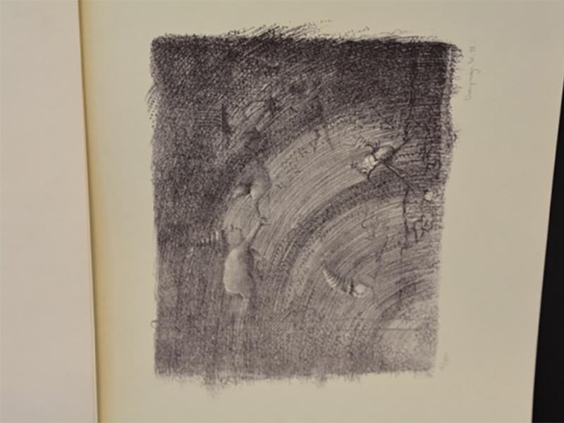 Lithografie 15/260 (1978) - W. Vanparys