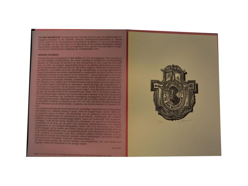 Houtgravure – 419 / 500 - Hedwig Pauwels