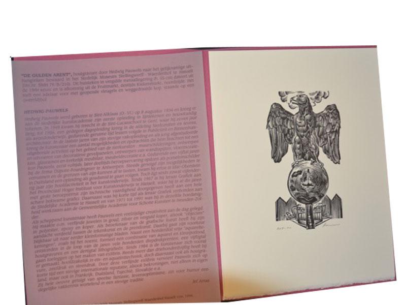 Houtgravure – 208 / 500 - Hedwig Pauwels