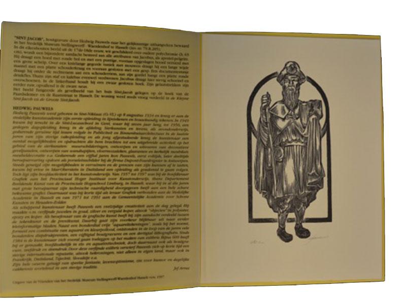 Houtgravure – 174 / 500 - Hedwig Pauwels