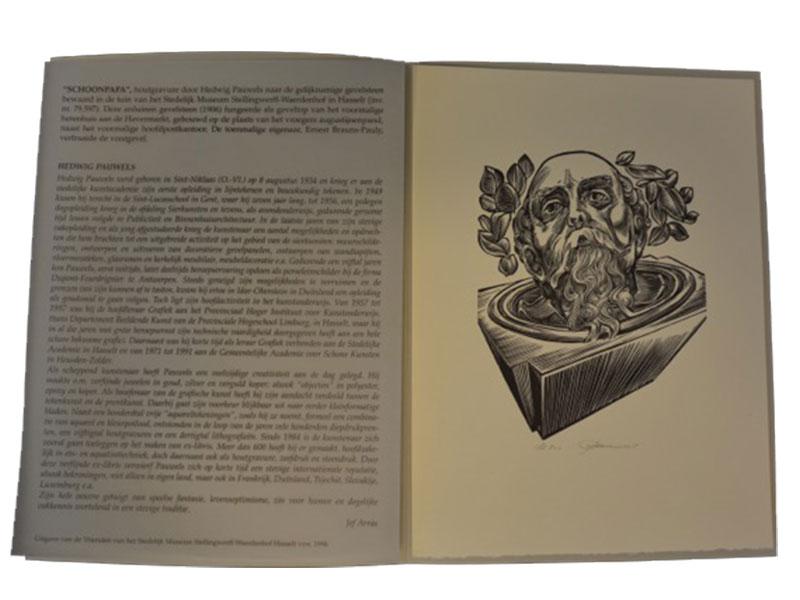 Houtgravure – 176 / 500 - Hedwig Pauwels