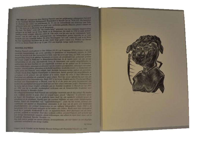 Houtgravure – 141 / 500 - Hedwig Pauwels