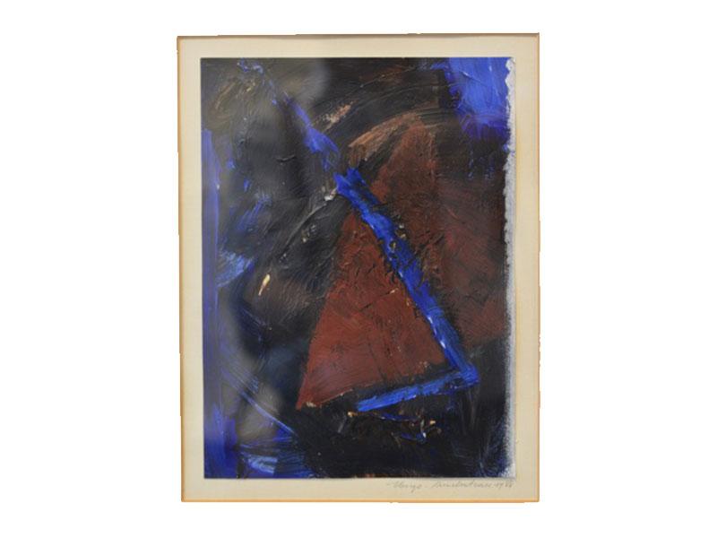 Kleurtekening op papier - Hugo Duchateau