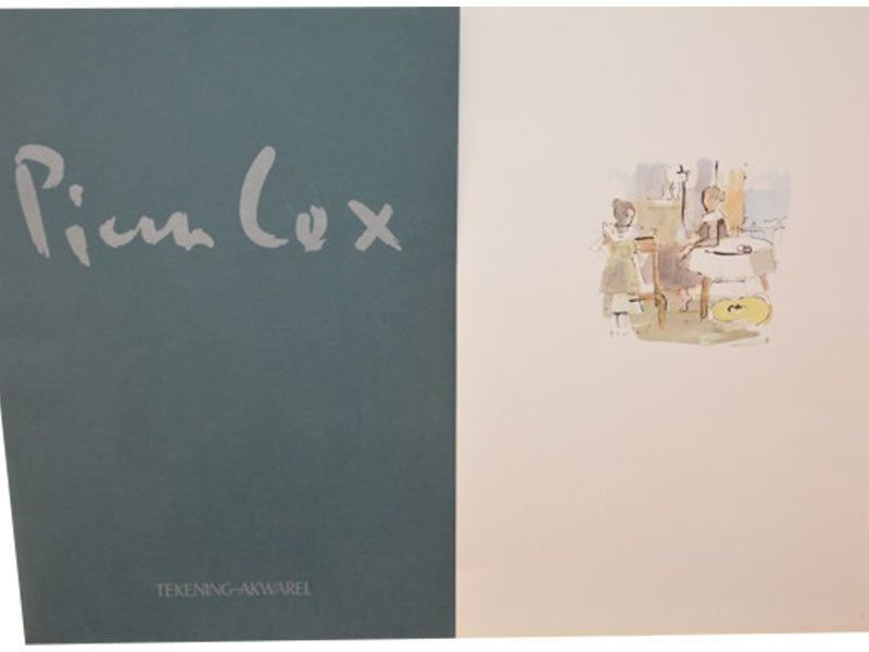12 x Lithografie - Pierre Cox
